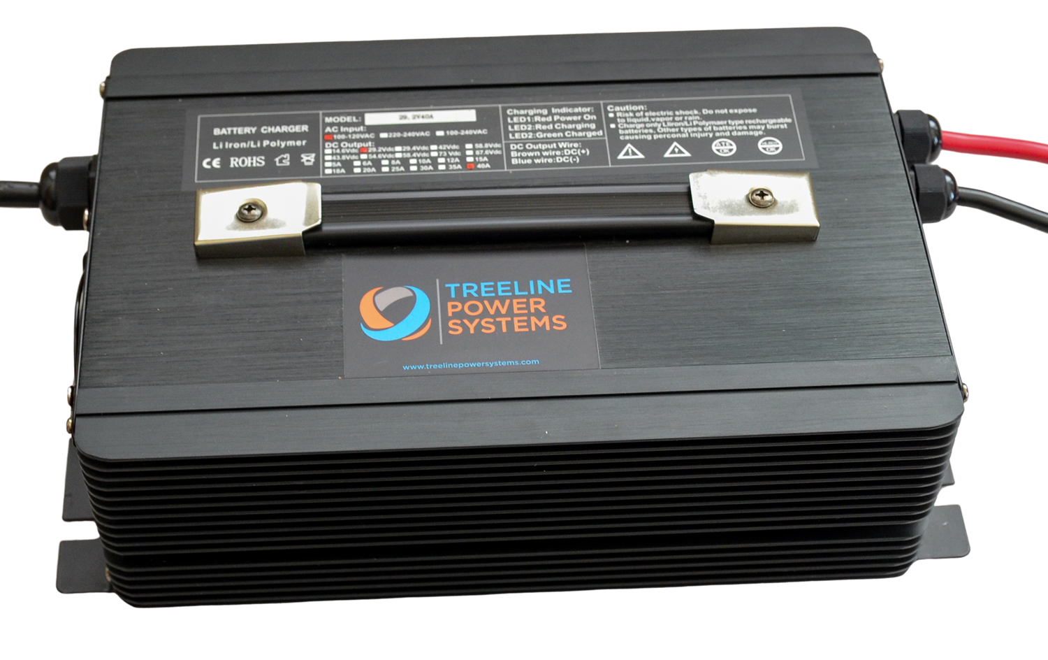 Treeline Power Systems 24V 35a Charger