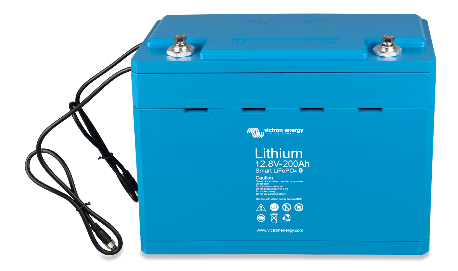 Victron Energy LiFePO4 12V (12.8v) 200ah Smart Battery