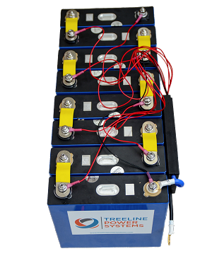 LiFePO4 24V (25.6v) 150ah 3.84kWh Battery System wIth BMS