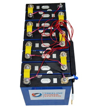 LiFePO4 48V (51.2v) 280ah 14kWh Battery System wIth BMS