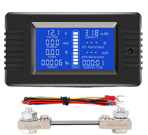 Battery Monitor Multifunction 100, 200, 300 amp