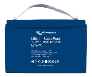 Victron Energy LiFePO4 12V (12.8v) 100ah SuperPack